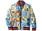Dolce & Gabbana Kids Nylon Maiolica Jacket (Big Kids)