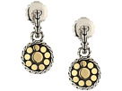 John Hardy Dot Drop Earrings in 18K Gold