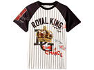 Dolce & Gabbana Kids Royal King Baseball T-Shirt (Big Kids)