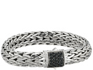 John Hardy Classic Chain 10.5mm Bracelet with Black Sapphire
