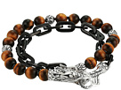 John Hardy Legends Naga Wrap Bracelet with Tiger Eye