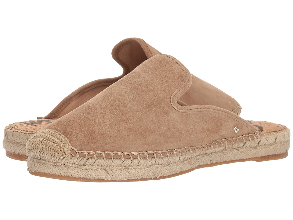 Sam Edelman - Kerry (Oatmeal Kid Suede Leather) Womens Flat Shoes