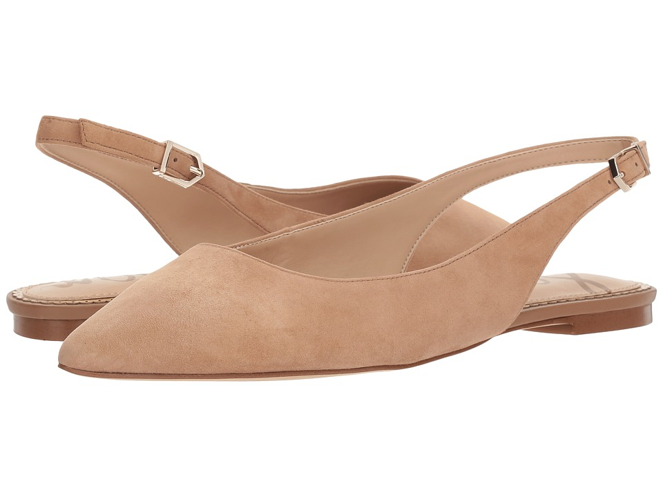 Sam Edelman - Raya (Golden Carmael Kid Suede Leather) Womens Shoes