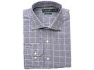 LAUREN Ralph Lauren Classic Fit No-Iron Houndstooth Cotton Dress Shirt