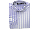 LAUREN Ralph Lauren Slim Fit No-Iron Striped Cotton Dress Shirt