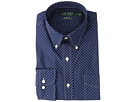 LAUREN Ralph Lauren LAUREN Ralph Lauren Classic Fit No-Iron Print Cotton Dress Shirt