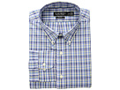 LAUREN Ralph Lauren LAUREN Ralph Lauren Slim Fit No-Iron Plaid Cotton Dress Shirt