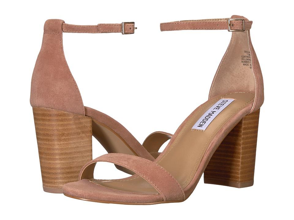 Steve Madden Exclusive - Declair Block Heeled Sandal (Tan Multi) High Heels