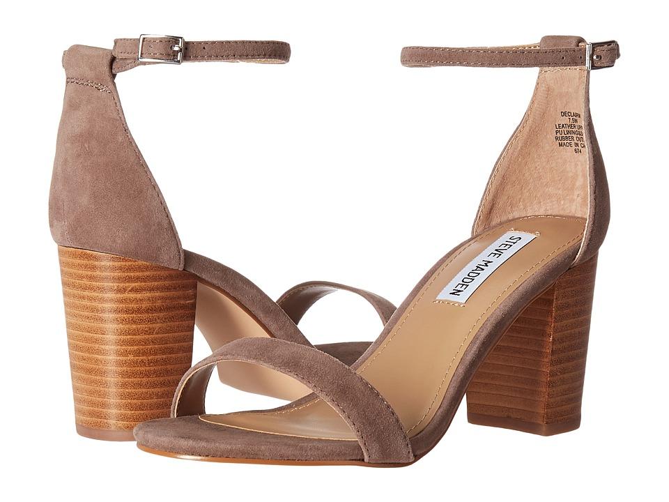 Steve Madden Exclusive - Declair Block Heeled Sandal (Grey Multi) High Heels