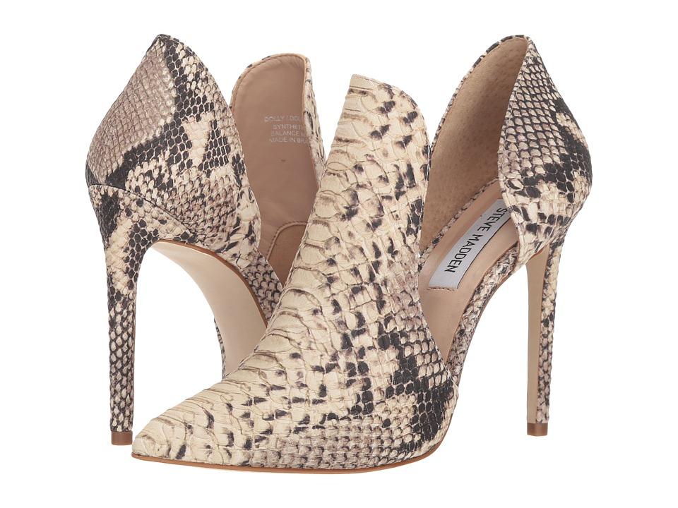 Steve Madden Dolly (Natural Snake) Women's Shoes