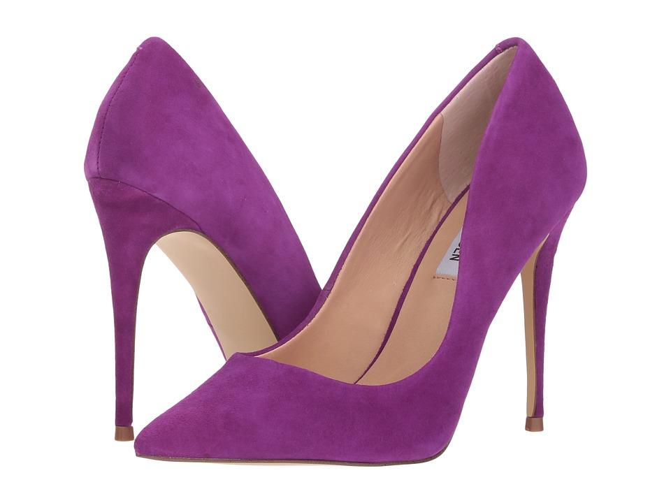 Steve Madden Daisie Pump (Purple Suede) Women's Shoes