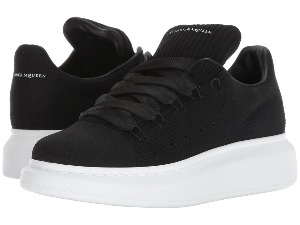 Alexander McQueen Oversized Runner Sneaker (Black)