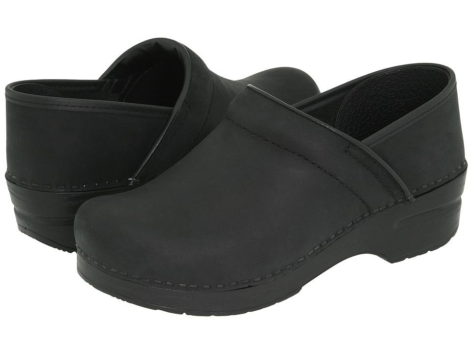 Dansko Professional (Black Oiled) Clog Shoes