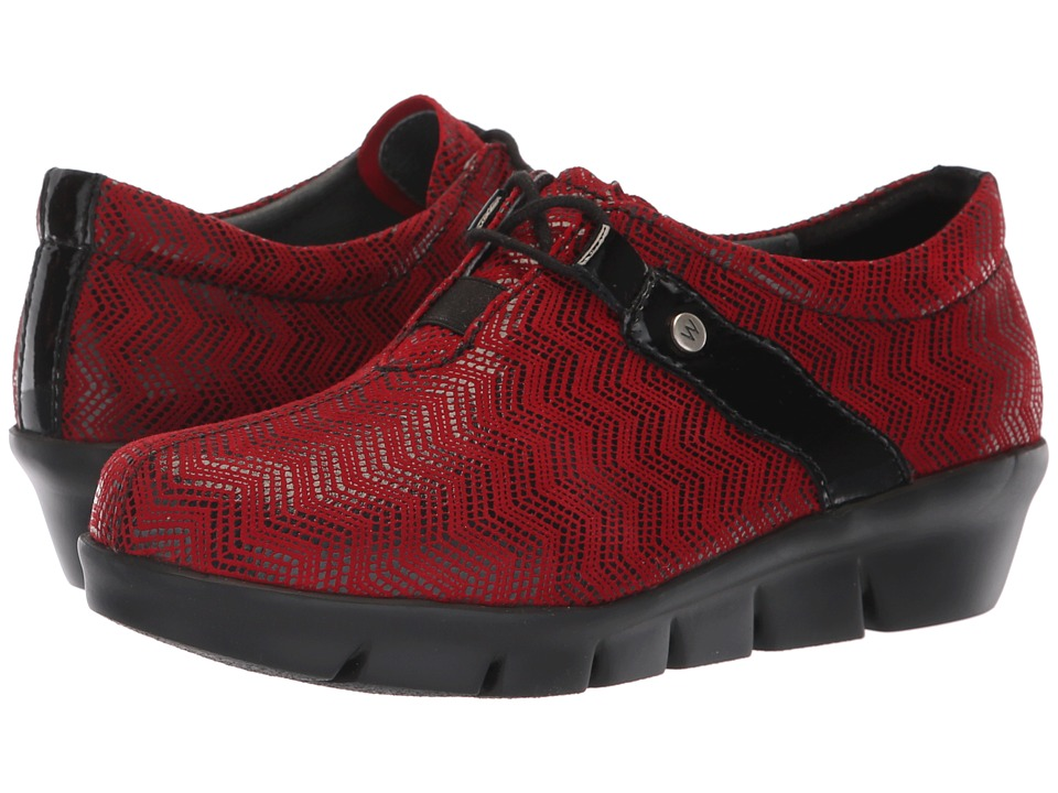 Wolky Muse (Dark Red) Women's Shoes