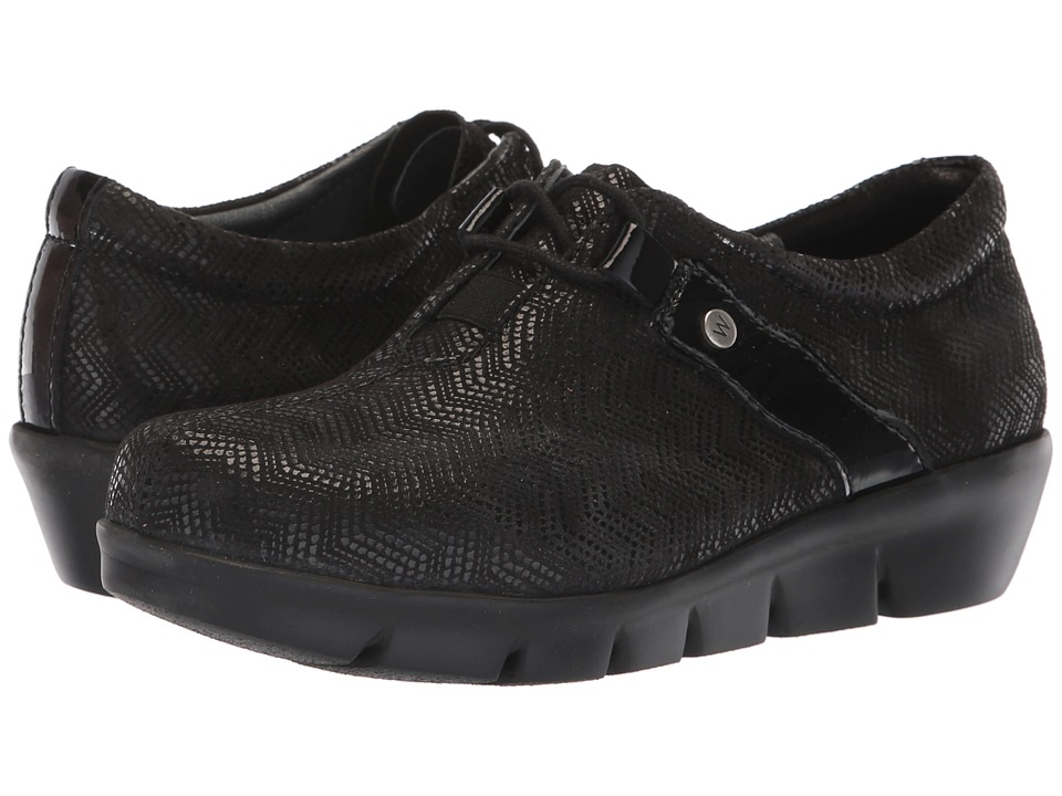 Wolky Muse (Black) Women's Shoes