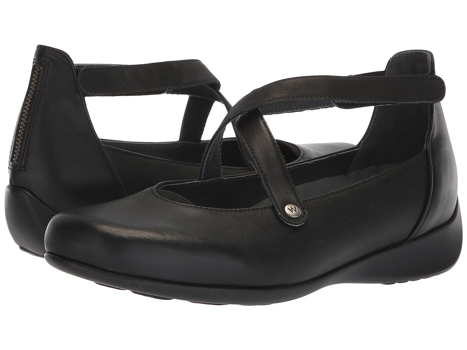 Wolky Ambrosia (Black) Women's Shoes