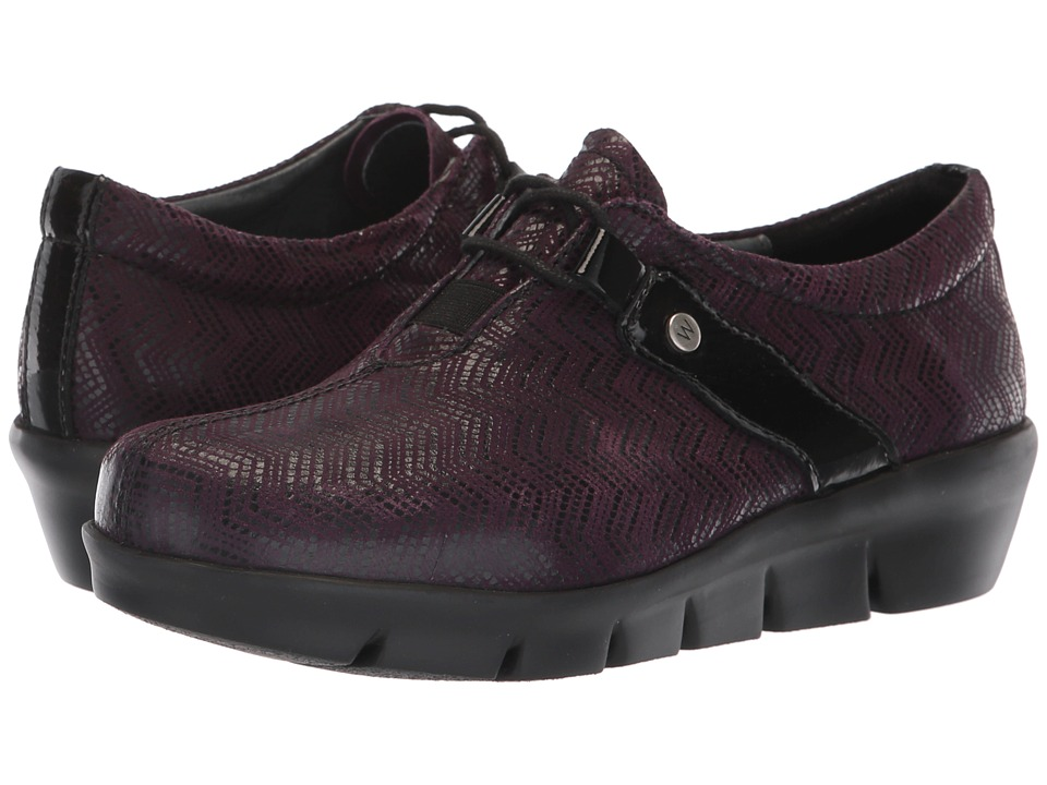 Wolky Muse (Purple) Women's Shoes