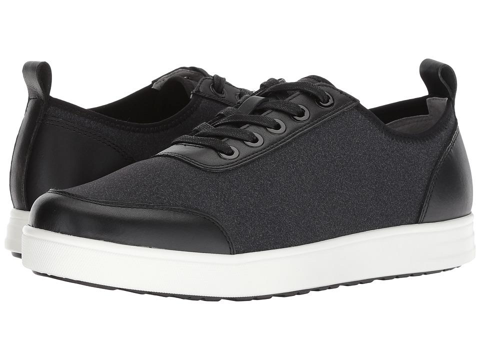 Alegria Stretcher (Black Mix) Men's Lace up casual Shoes