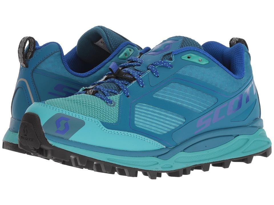 Scott Kinabalu Supertrac (Blue/Green) Women's Running Shoes