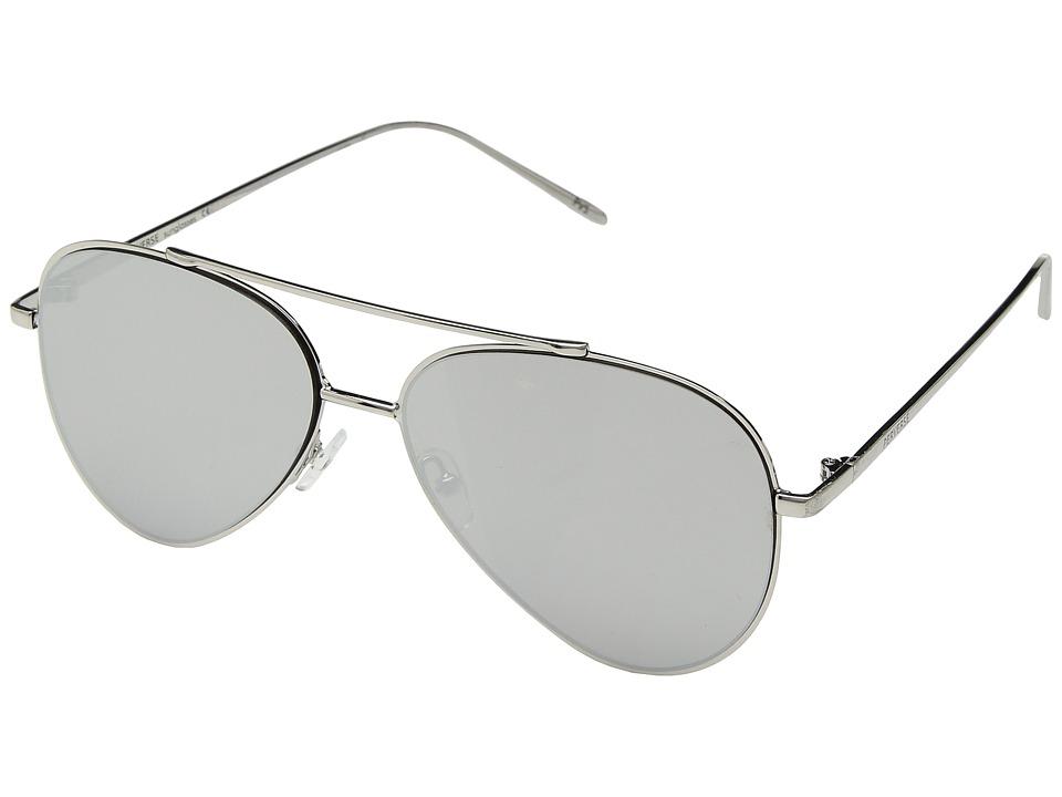 PERVERSE Sunglasses - Bronson (Silver/Silver Mirror) Fashion Sunglasses