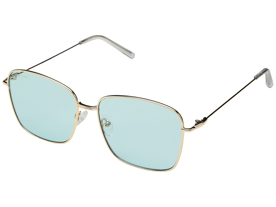 PERVERSE Sunglasses - Eva (Gold/Mint Transparent) Fashion Sunglasses