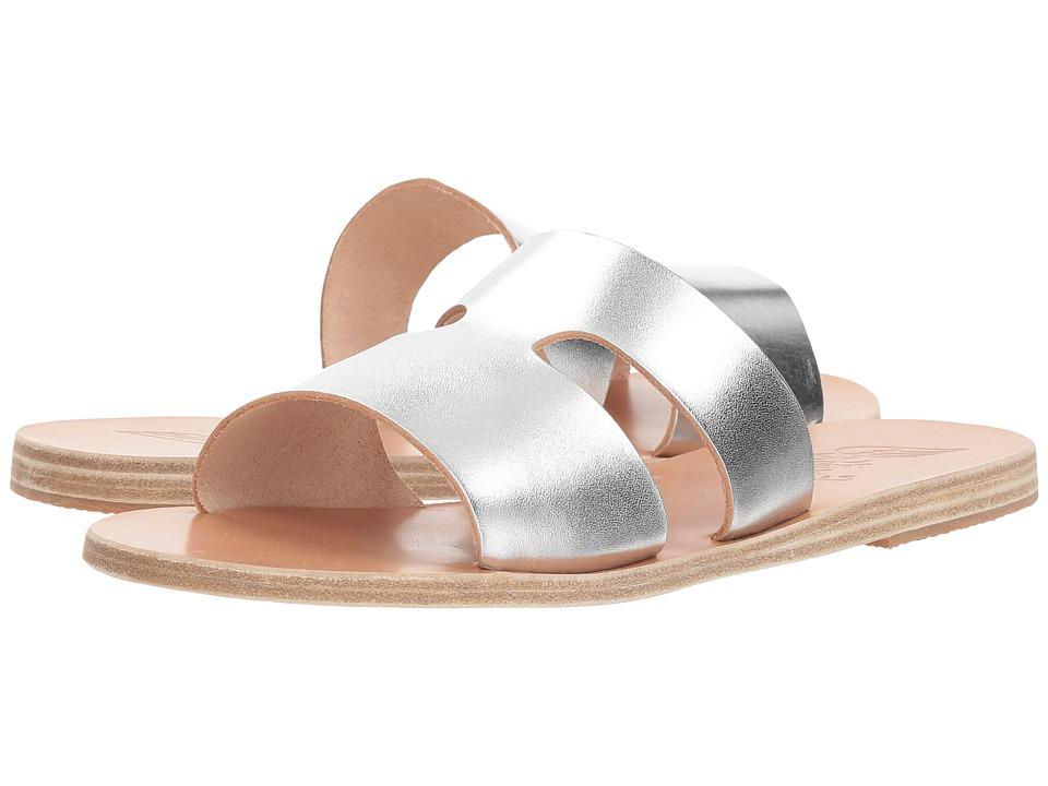 Ancient Greek Sandals Apteros (Silver Vachetta) Sandals