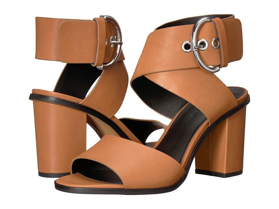 Rebecca Minkoff Valaree (Almond Leather) Women's Dress Sandals