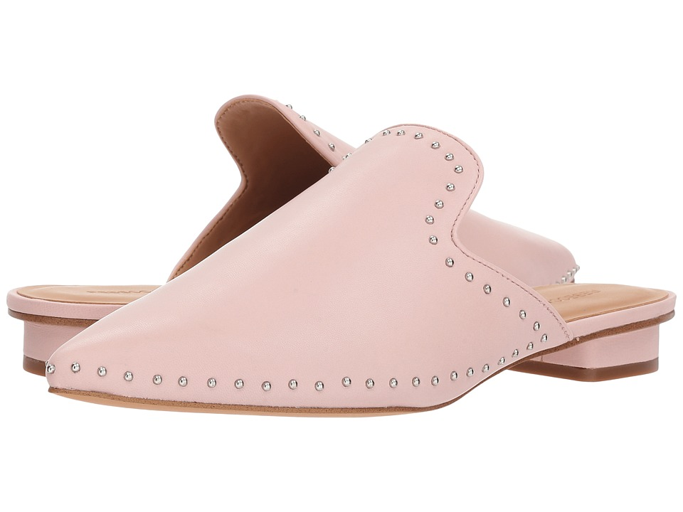 Rebecca Minkoff Chamille Stud (Millennial Pink Leather) Women's Dress Flat Shoes
