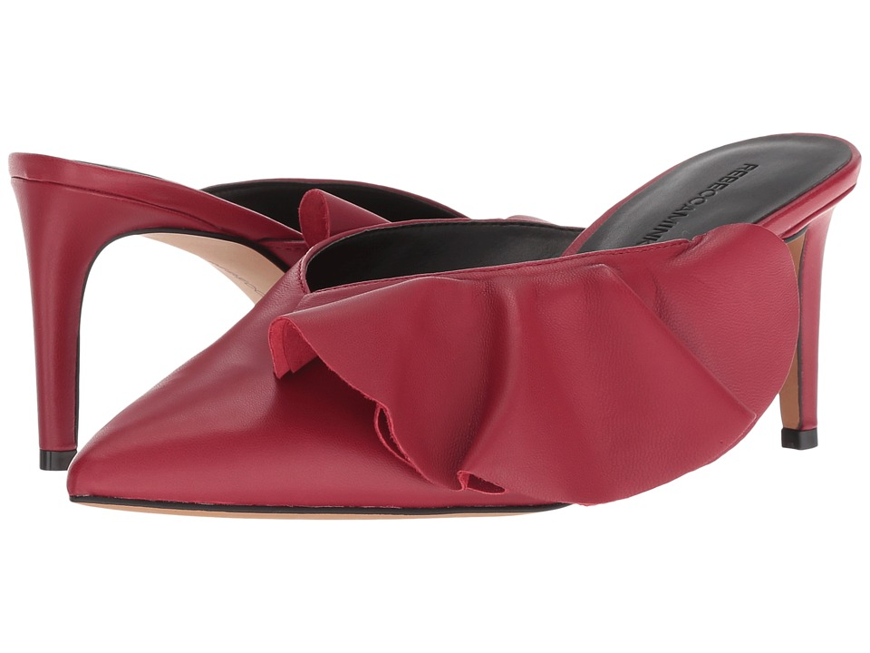 Rebecca Minkoff Giov (Scarlet Leather) Women's Slip-on Dress Shoes