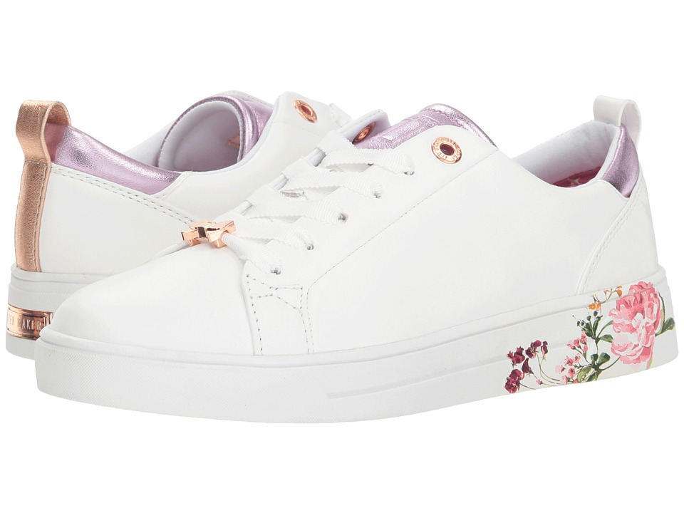 Ted Baker Giellip (White/Serenity Leather) Women's Shoes