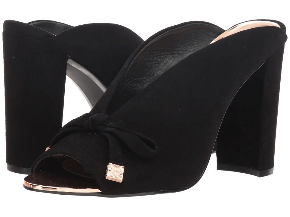 Ted Baker Marinax (Black Suede) Women's Shoes