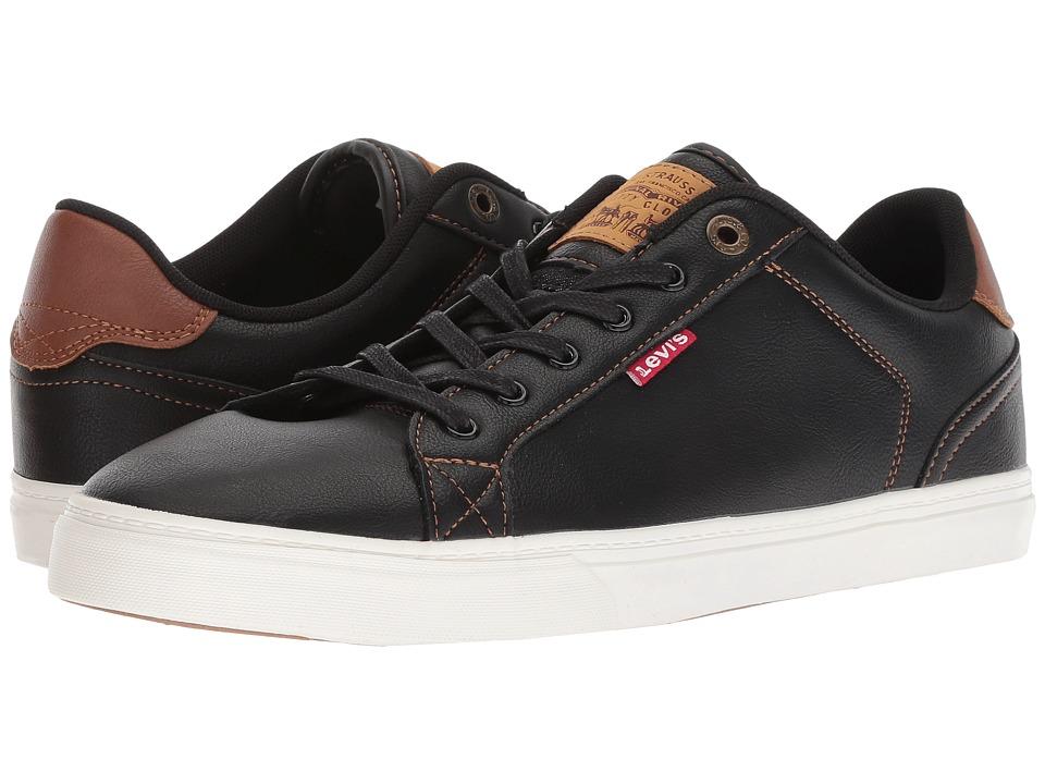 Levis(r) Shoes - Corey V Nappa (Black/Tan) Mens  Shoes