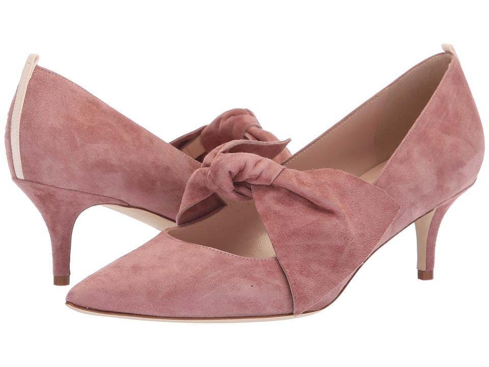 SJP by Sarah Jessica Parker Roux 50 mm. (Mauve Suede) Women's Shoes
