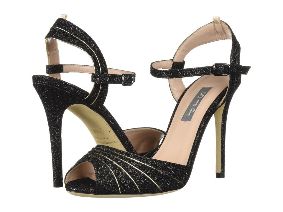 SJP by Sarah Jessica Parker Monroe (Doozy Glitter/Platino) Women's Shoes