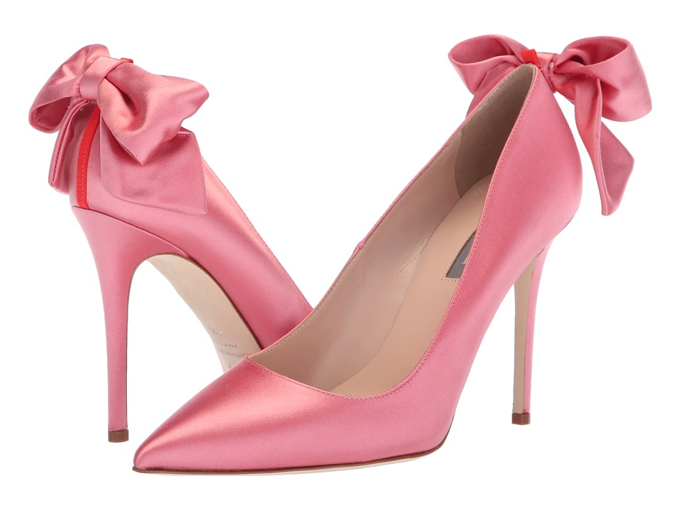 SJP by Sarah Jessica Parker Lucille (Rose Satin) Women's Shoes