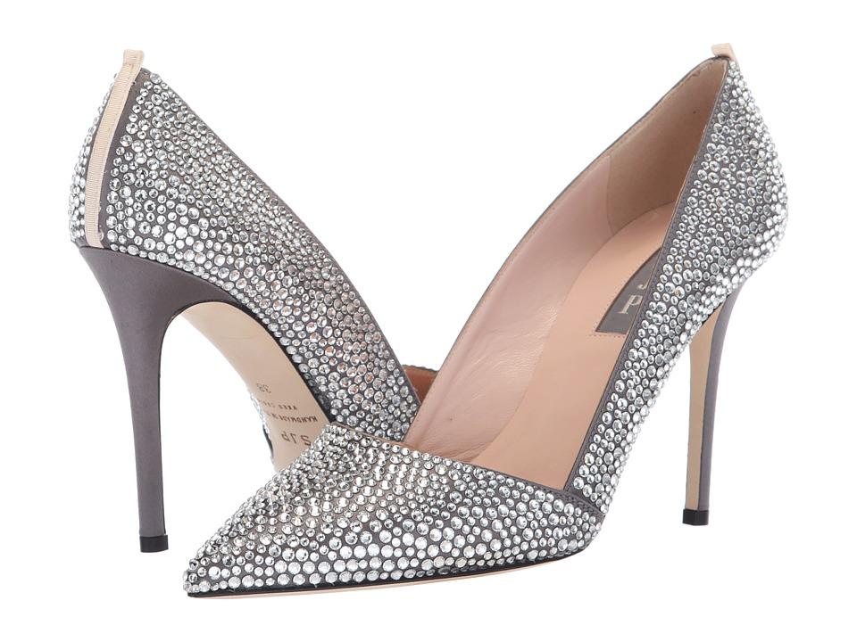SJP by Sarah Jessica Parker Veronique (Grey Satin) Women's Shoes