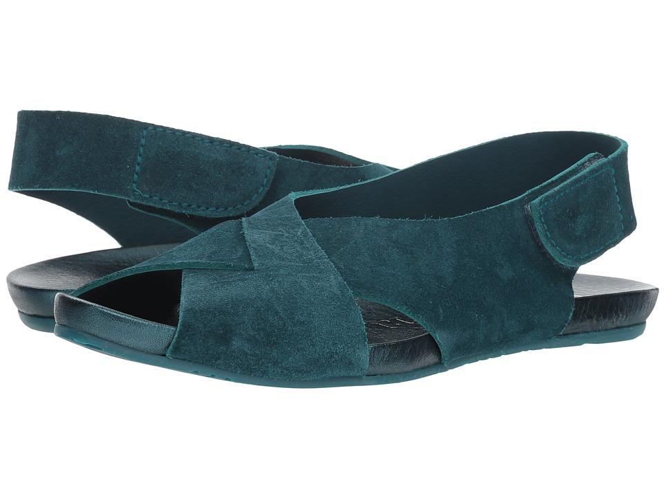 Pedro Garcia Kaila 573 (Teal Castoro) Sandals