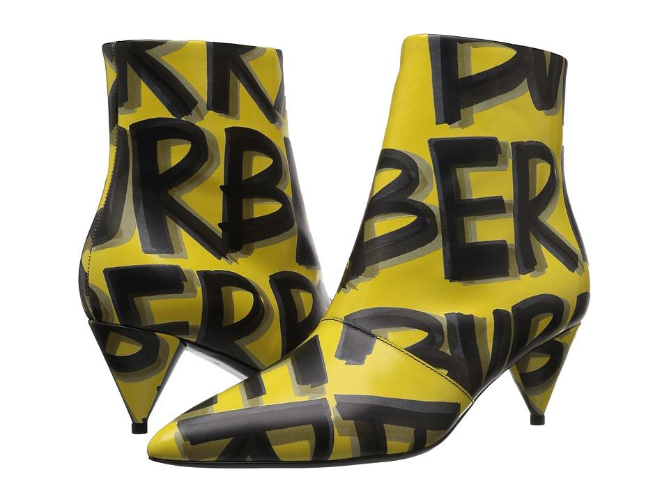 Burberry Wilsbeck (Vibrant Yellow) Women's Shoes