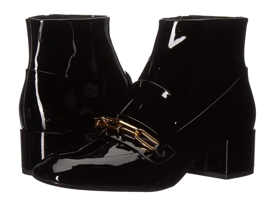 Burberry Chettle 45 (Black) Women's Shoes