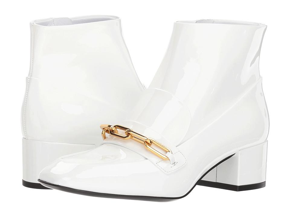 Burberry Chettle 45 (Optic White) Women's Shoes