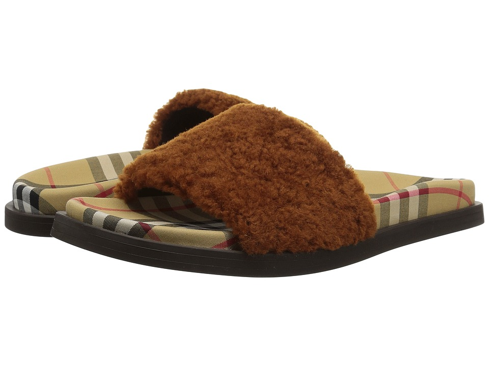 Burberry Kencot (Tan) Women's Shoes