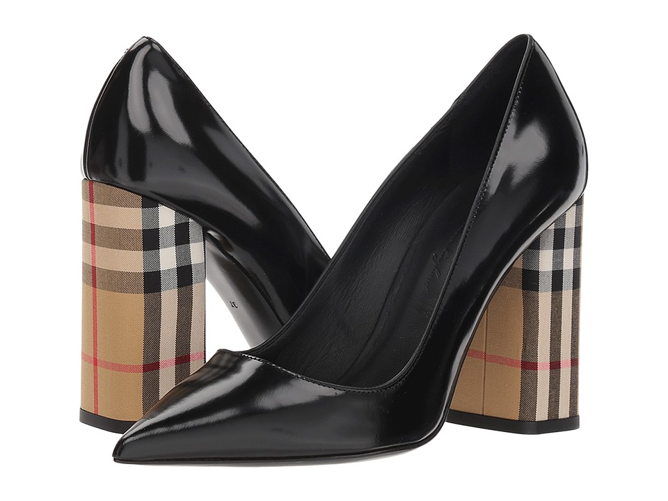 Burberry Dashwood 100 (Black) Women's Shoes