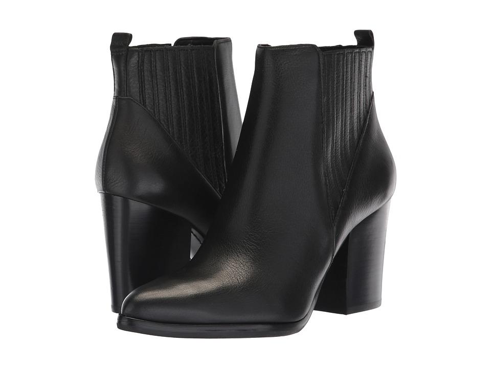 Marc Fisher LTD Alva (Black Leather) Women's Shoes