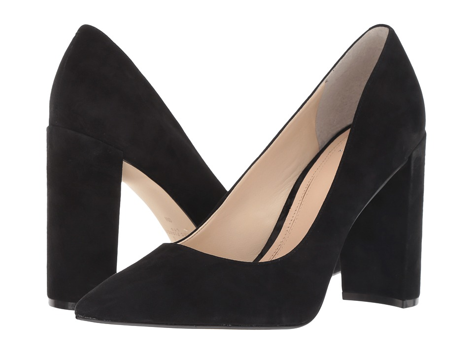 Marc Fisher LTD Elia (Black Kid Suede) Women's Shoes