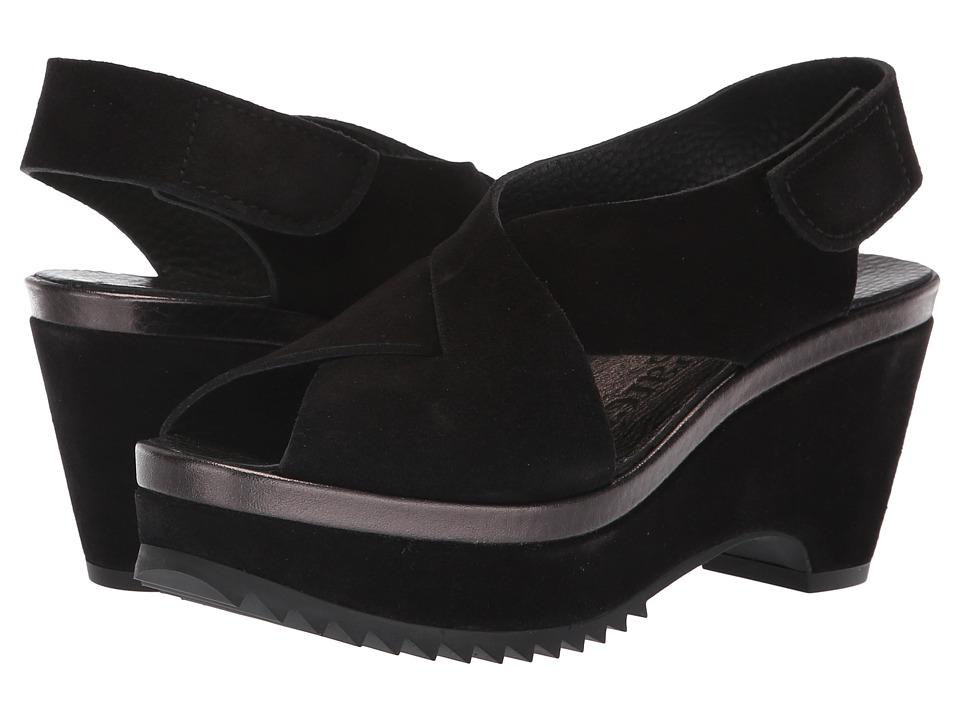 Pedro Garcia Fayre-LM (Black Castoro Lame) Women's Shoes