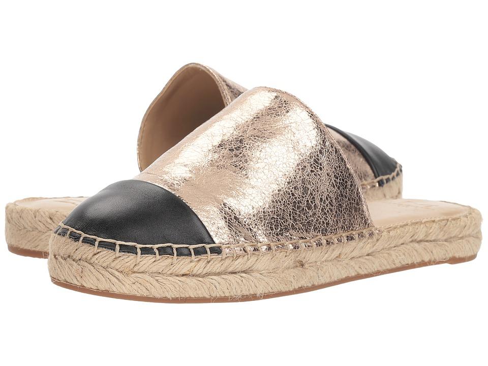 Marc Fisher LTD Emilie (Gold/Black New Crackle Metallic/Mercury) Women's Shoes