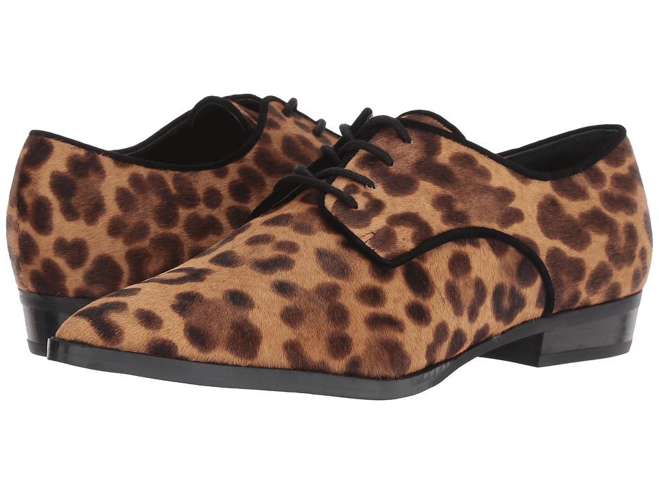 Marc Fisher LTD Finnaly (Light Camel Multi/Black Fume Leopard Pony/Kid Suede) Women's Shoes