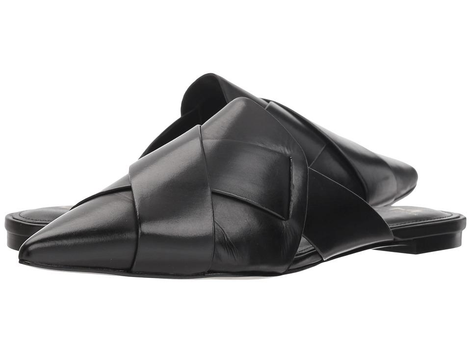Marc Fisher LTD Sono (Black Leather) Women's Shoes