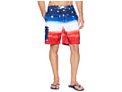Polo Ralph Lauren Watercolor Flag Ombre Kailua Swim Trunk