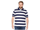 Polo Ralph Lauren Big Tall Jersey Short Sleeve Yarn-Dyed Knit Collar